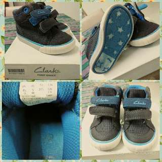 Clarks Boy Shoes (Rm 70 include postage)