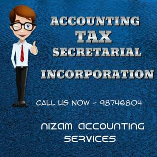 Accounting incorporation tax secrrtary