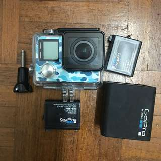 Quick Sale GoPro 4+ Silver