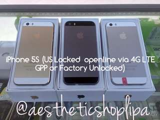 iPhone 5S ( Factory Unlocked or US Locked )