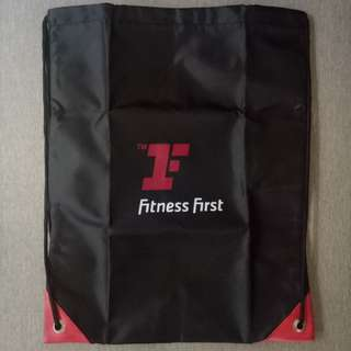 Fitness First Drawstring Bag