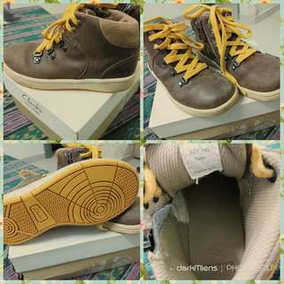 Clarks (Rm 60 include postage)