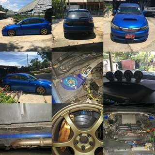 WRX Ver10 2.5M 5 speed Byk jajan Defi ori Adjustable Brembo Rm12,000