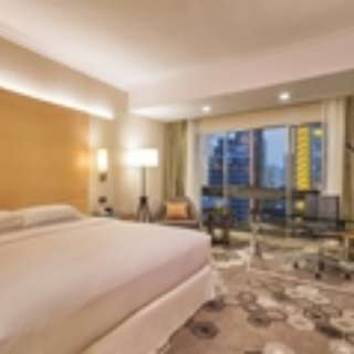Hilton Deluxe room on 16 June 2018