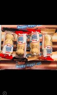 🚚 健達巧克力 黑白河馬HAPPY HIPPO 限量代購中