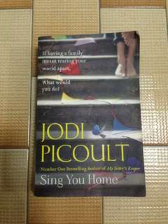Jodi Picoult Novel - Sing You Home