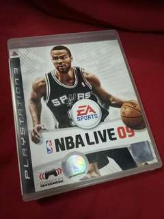 Ps3 Game NBA Live 09