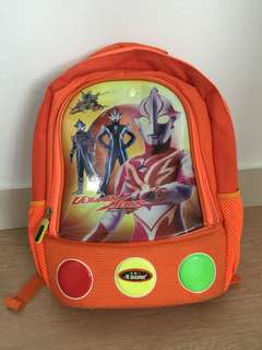 Swan Ultraman Orange Backpack