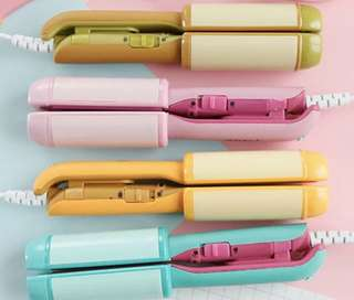 New Mini hair straightener curling bar ( 4 colours )