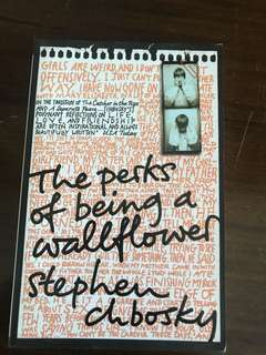 The Perks of Being a Wallflower By Steven Chbosky