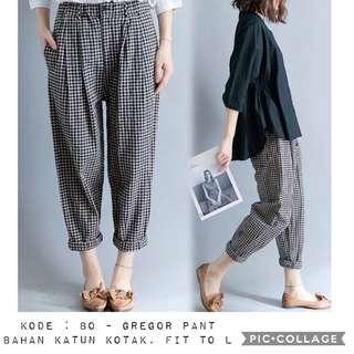 Kpop style pants girl