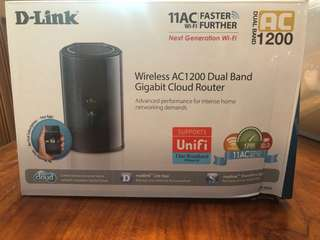 D-Link Dual Band AC wifi Router