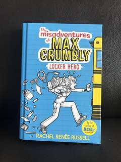 the misadventures of max crumbly - locker hero by rachel renée russell