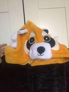 Red panda/raccoon?? Onesie