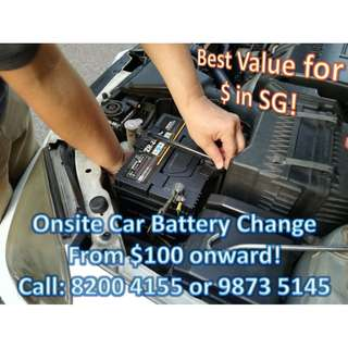 Car Battery Express Replacement Service