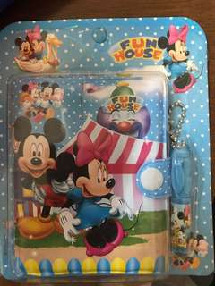 Mickey mouse noted book
