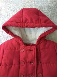 Mothercare Baby Winter Coat. Size 6-9M.