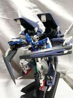 RG 1/144 Exia Gundam + HG 1/144 GN ARMS