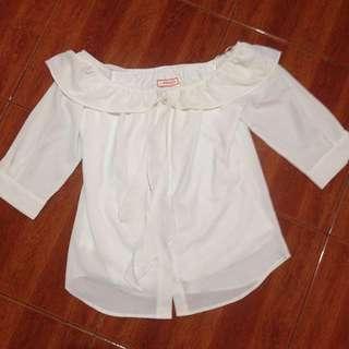 XL White Blouse