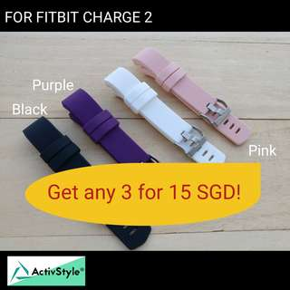 Fitbit Charge 2 Replacement Straps