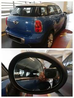 Mini Cooper Statesman side mirror all models and series