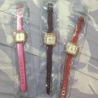 NEW 💗 Classy watches *no batt*
