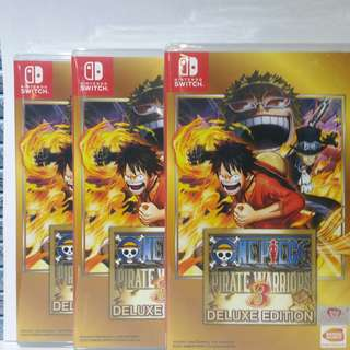 One piece pirate warrior 3 deluxe edition