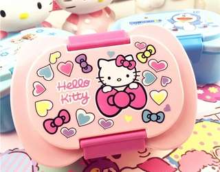 [Instock] Hello Kitty BPA Free Lunch Box