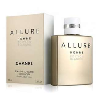 CHANEL ALLURE HOMME EDITION BLANCHE EDT CONCENTREE FOR MEN 100ML
