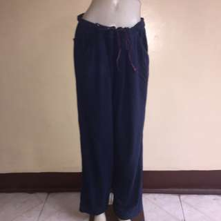 TOMMY BAHAMA blue plus size drawstring jogging/sweat pants xl