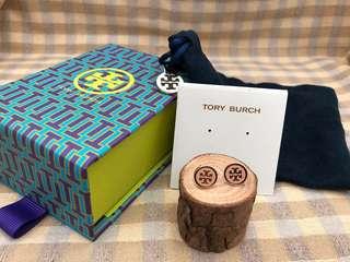 Tory Burch 2018粉色耳環
