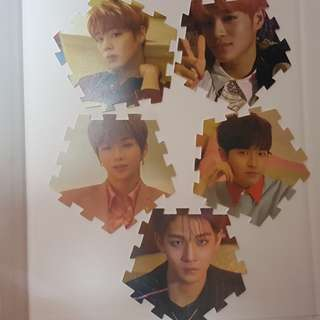 [SALE] WANNA ONE I PROMISE YOU OFFICIAL TAZO