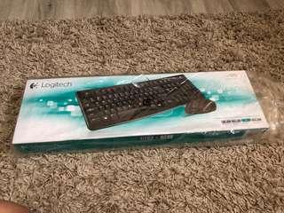 Logitech MK120 Wired Keyboard + Mouse