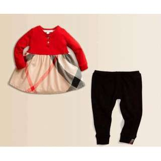 Burberry Blouse with Pant Set