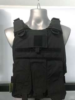 Armour wear black cutaway plate carrier