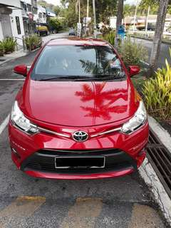 SAMBUNG BAYAR/CONTINUE LOAN  TOYOTA VIOS 1.5 AUTO E SPEC  YEAR 2018 MONTHLY RM 930 BALANCE 9 YEARS ROADTAX 2019 REVERSE CAMERA  PUSH START  KEYLESS NEW CAR  DP KLIK wasap.my/60133524312/vios