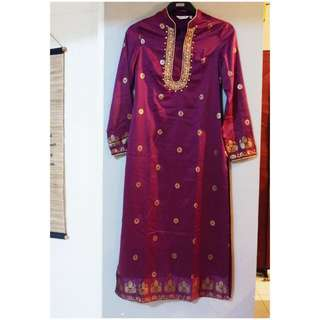 Gamis/Kaftan Purple Mint