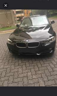 BMW 316i Leasing Out For Long Term / 3 to 6 months (COE Expiry On Sep 2024)