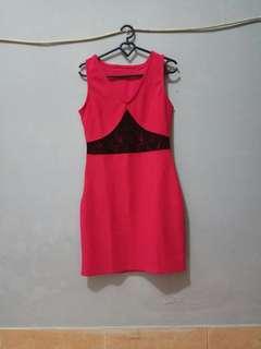 Sexy dress pink