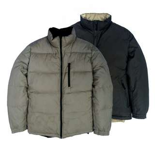 Jaket Uniqlo Reversible Down jacket