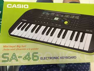 CASIO 電子琴 SA-46