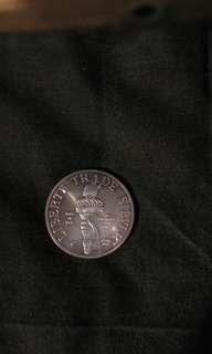 美国自由神像銀幣