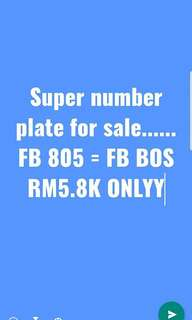 Car plate FB 805= FB BOS.. please call 0166074979