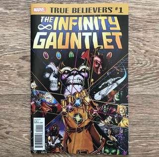 THE INFINITY GAUNTLET MARVEL COMICS