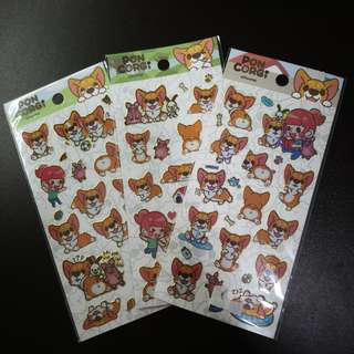 Corgi Stickers & items