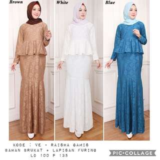 One set muslimah fashion elegant