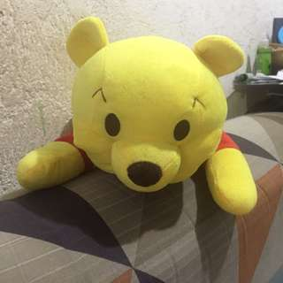 Pooh Tissue Holder