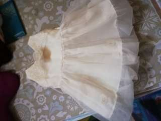 Baptism dress for girl