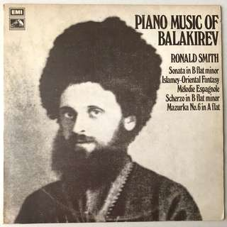 Balakirev Piano Music Ronald Smith EMI HQS 1259