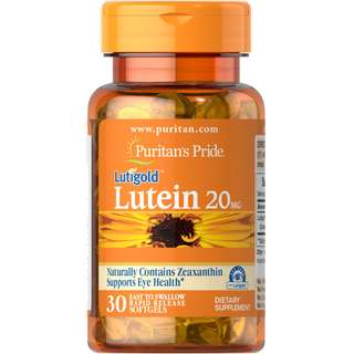 Lutein 20 mg with Zeaxanthin 30 softgels